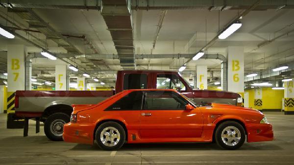 Перевозка автомобиля ford mus / 1994 г / 1 шт из Ульяновск в Санкт-Петербург