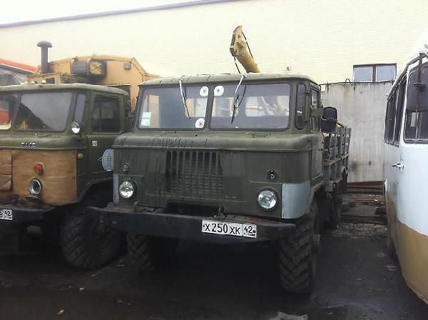 Газ 66 буровая из г. Кемерово в г. Уссурийск