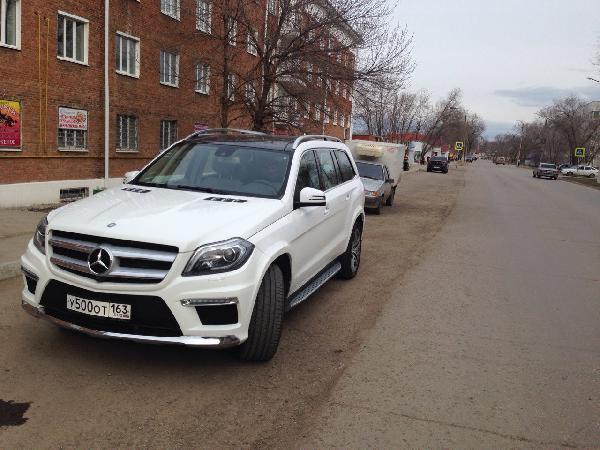 Перевозка авто сеткой мерседес gl 350 / 2016 г / 1 шт из Самара в Санкт-Петербург