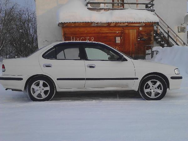 Перевозка автомобиля легковой седан ниссан санни / 2001 г / 1 шт из Лабытнанги в Новосибирск