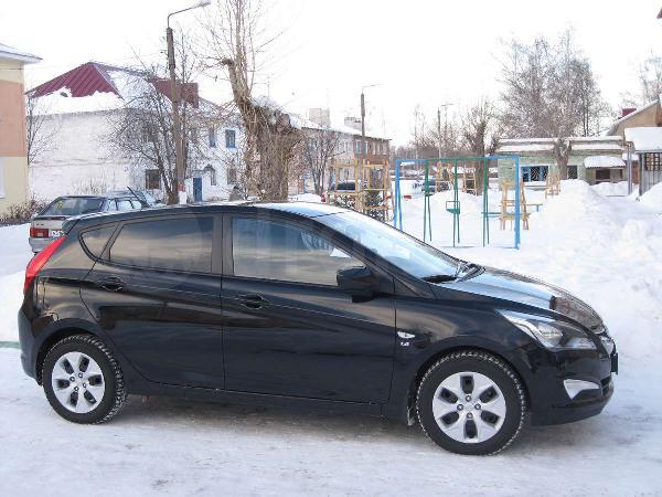 Перевозка автомобиля:  hyundai solaris 2011 г.в. из Абакан в Кемерово
