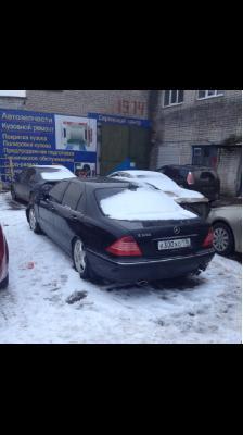 Перевозка автомобиля мерседес w220 / 2004 г / 1 шт из Зеленодольск в Нальчик