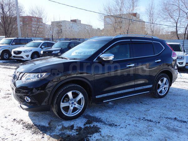 Перевозка автомобиля nissan x-trail / 2014 г / 1 шт из Владивосток в Корсаков