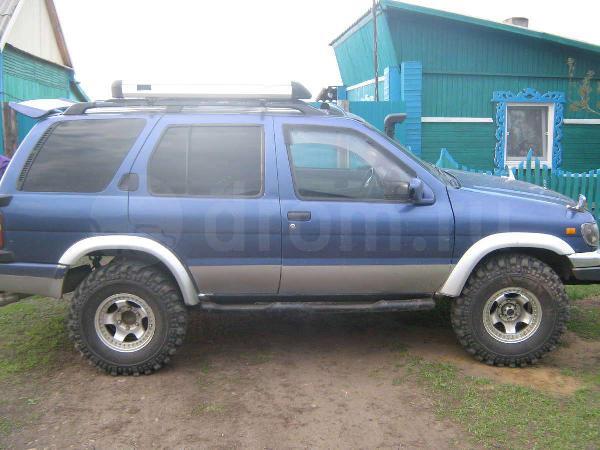 Перевозка авто сеткой nissan  terrano / 1996 г / 1 шт из Иркутска в Таксимо