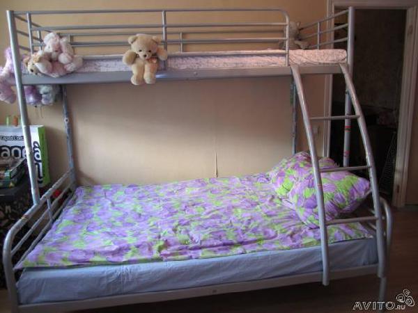 Заказать автомобиль для отправки мебели : двухъярусная кровать Икеа из Санкт-Петербурга в Снт Союз