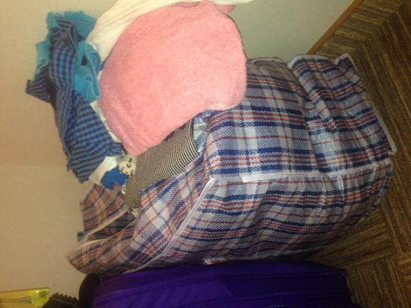 Стоимость транспортировки сумок с личными домашними вещами(одежды, посуды) попутно из Нижний Новгород в Уфа