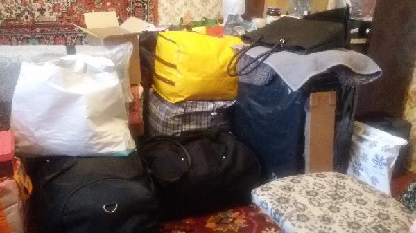 Нужно перевезти личные вещи из Украина, Киев в Россия, Домодедово