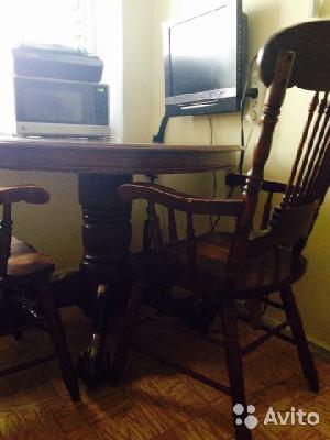 Доставить стол и стулья из Москва в Химки