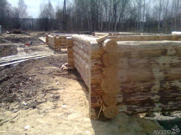 Заказ авто для транспортировки вещей : Срубы из Юматова в Пермь