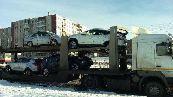 Отправить авто цена из Россия, Санкт-Петербург в Киргизия, Бишкек