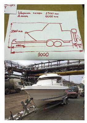 Транспортировка катера цена из Пермь в Северодвинск