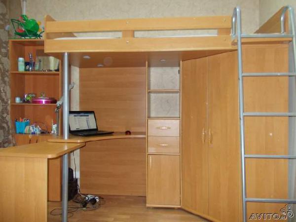 Заказ авто для доставки вещей : кровать-чердак из Санкт-Петербурга в Зори Кубани