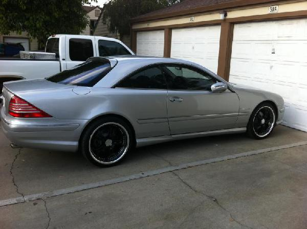 Перевозка автомобиля Mercedes-Benz cl 500 / 2001 г / 1 шт
