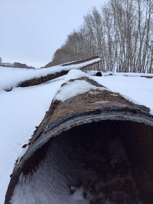 Нужно перевезти трубы 630(7) из Новосибирск в Чебоксары