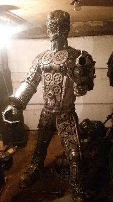 Газель термобудка для перевозки скульптуры из металлолома из Россия, Вязники в Чешская Республика, Прага