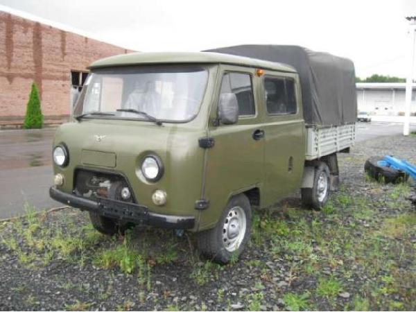 Перевозка автомобиля УАЗ 3909 / 2012 г / 1 шт из Москва в Бийск