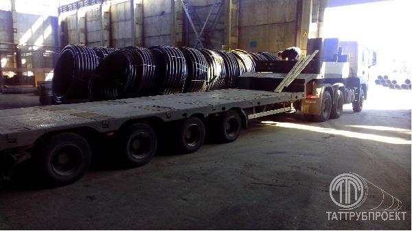 Перевозка ТРУБ с конниками из Казань в Нефтеюганск