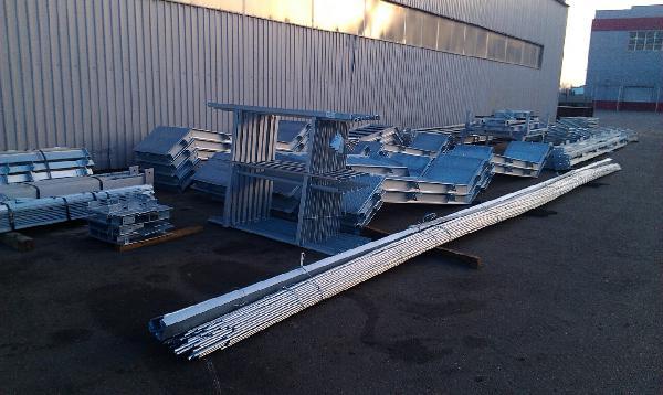 Автогрузоперевозки металлоконструкций догрузом из Краснодар в Саки