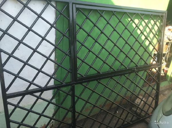 Перевезти металлическую решетку, 1.92х1.44 из Курск в Москва