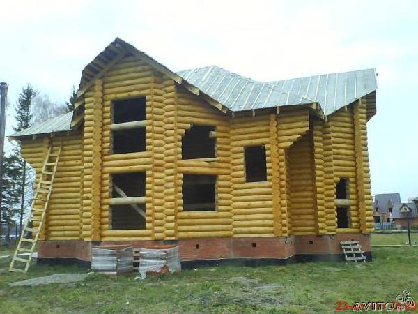 Перевозка сруб дома из Томска в Омск