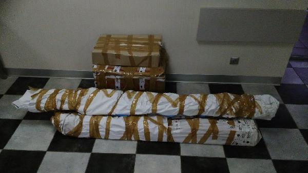 Перевезти на газели коробки недорого по Томску