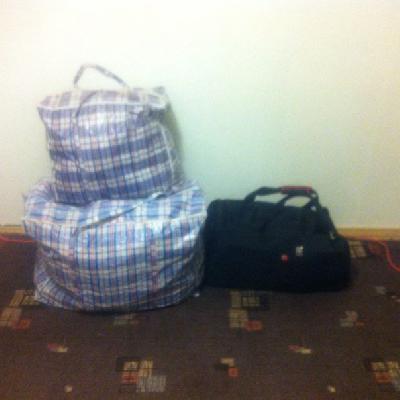Заказ грузового такси для перевозки три сумок попутно из Москва в Владикавказ