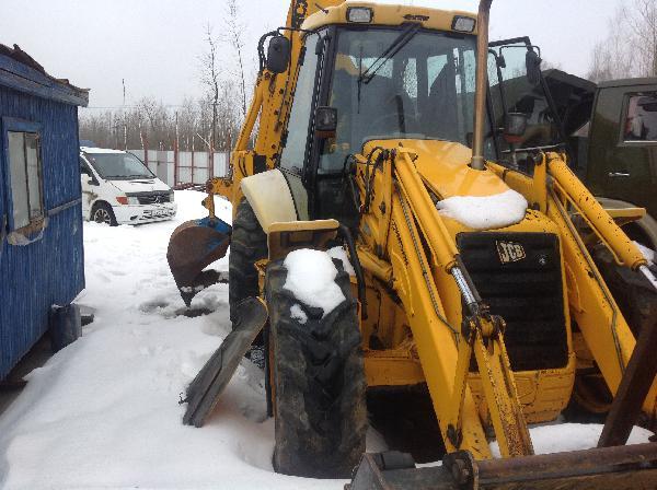 Перевезти экскаватор погрузчик JCB4CX из Калуги в Краснодар