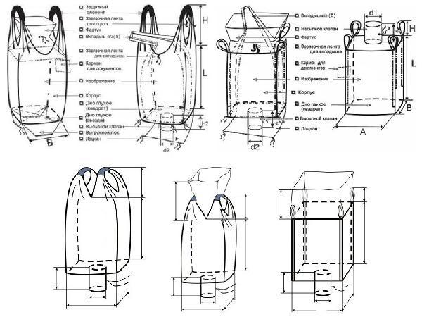 Газель на заказа для перевозки три биг-бэги с пластиком догрузом из Богородска в Саратов