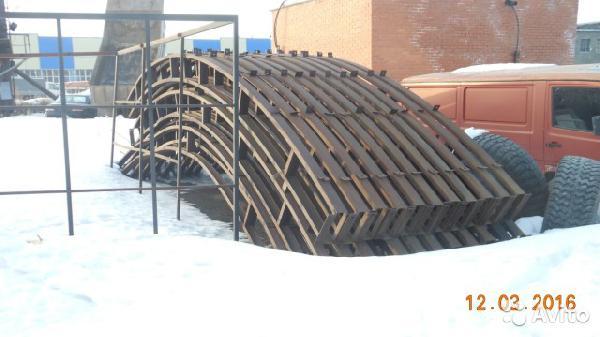 Транспортировка металоконструкции дешево из Тобольск в Ждамирово