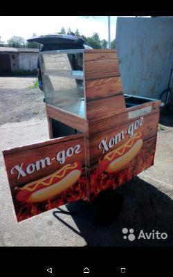 Автогрузоперевозки тележку для приготовлений хот-догов на улице из Санкт-Петербург в Красноярск