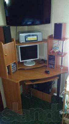 Заказать автомобиль для транспортировки вещей : Угловой Компьютерный Стол из Казани в Елкибаево