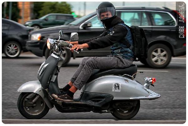 Доставка скутера стоимость из Москва в Гулевка
