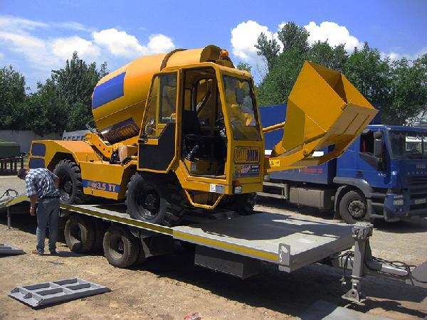 Транспортировка бетоносмесителя с самозагрузкой carmix (кармикс) цена из Иркутск в Усть-Кут