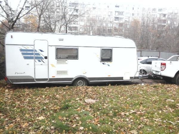 Отправить автоприцепа hymer eriba цена из Москва в Евпатория