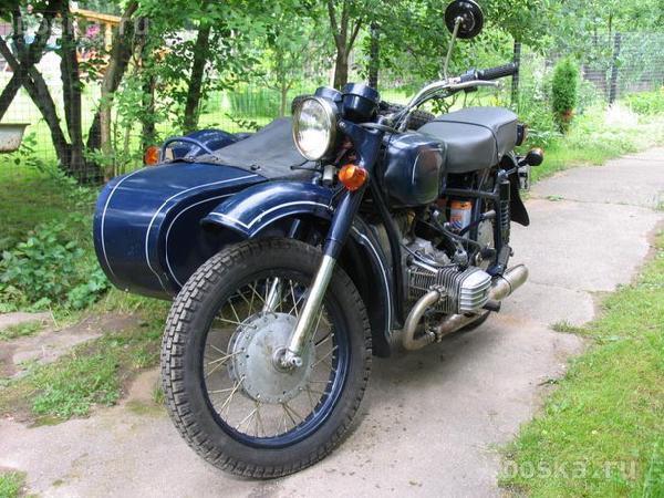 Мотоцикл Днепр с коляской из Рязанская область в Москва