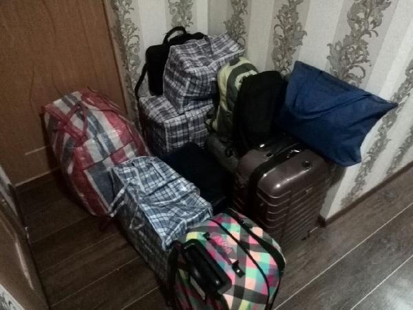 Перевозка личных вещей, чемоданов, сумок, 6 шт. из Нижнего Новгорода в Пущино