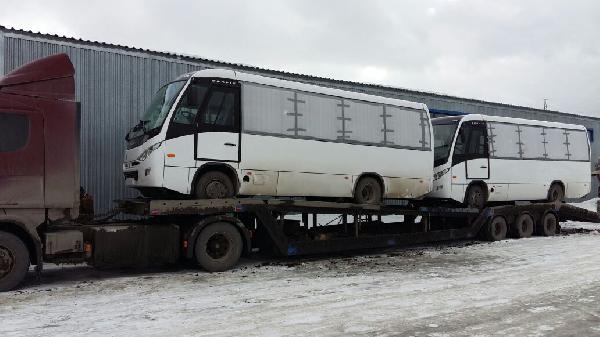 Сколько стоит перевезти автобус  из Березовский в порт Ванино Хабаровский край