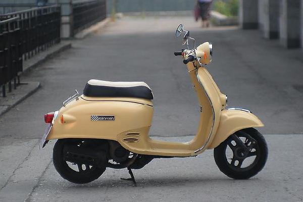 Скутер из Москва в Химки ивакино