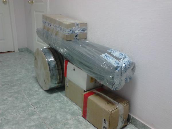 перевозка коробок цена попутно из Пермь в Челябинск