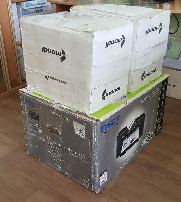 Заказать машину перевезти коробки с проектной документацией из Хабаровск в Теплый Ключ