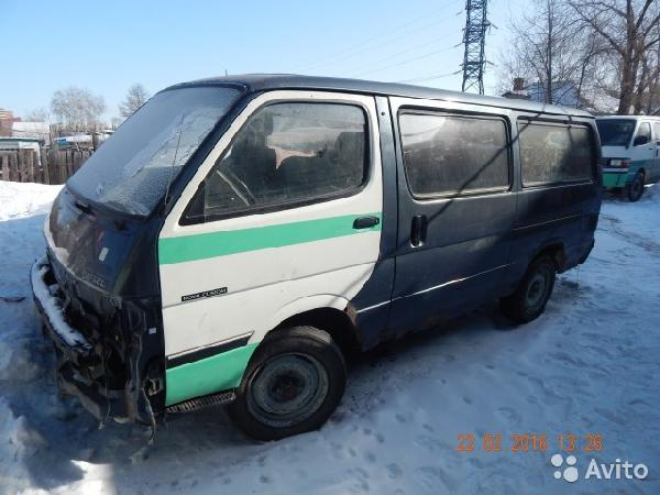 Toyota Hiace / 1992 г / 1 шт из Москва в Омск