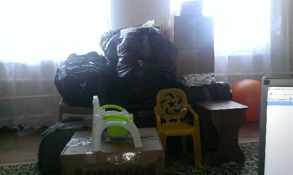 Сколько стоит отправка домашних вещей /одежды, посуды, детской коляска/ догрузом из Рассказово в Санкт-Петербург