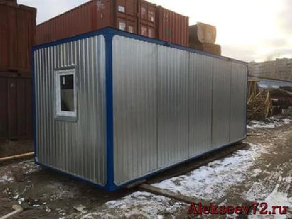 Доставить вагона бытовку из Набережные Челны в Казань