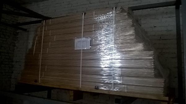Грузоперевозки на газели стройматериалов (доска половая) услуги из Домодедово в Большое Свинорье