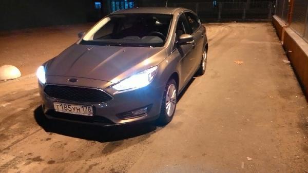 Ford Focus / 2015 г / 1 шт из Санкт-Петербург в Иркутск