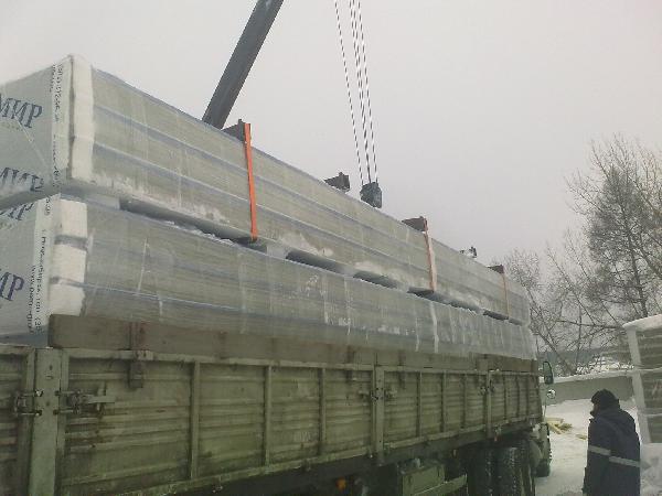 доставка, Стройматериалы из Гатчина в Челябинск