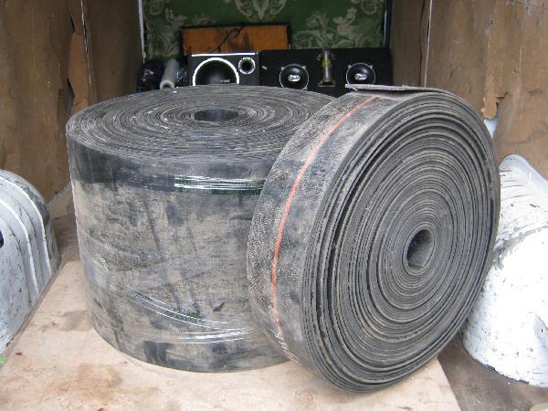 Автоперевозка ленту резиновую недорого догрузом из Воронеж в Мальчевская