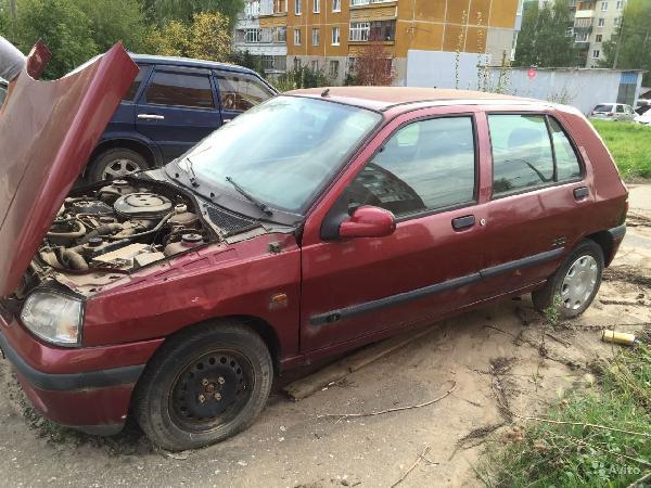 Renault Clio / 1998 г / 1 шт из Нижний Новгород в Санкт-Петербург