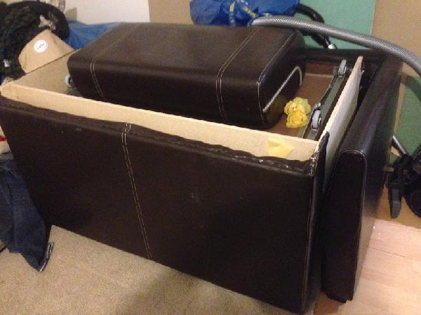 Перевозка недорого дивана В разборе по Москве