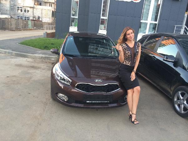 Kia Cee'd / 2014 г / 1 шт из Челябинск в Сочи